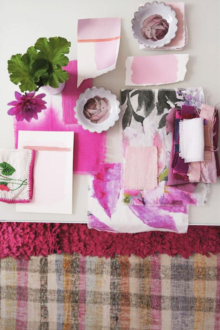 Designers Guild Pink Board