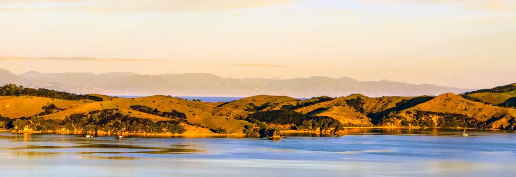 Looking towards Ponui island